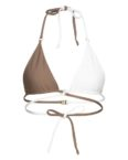 Lanasia Triangel-Bikini-Top Los Angeles weiss
