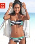 KangaROOS Bandeau-Bikini-Top Anita, mit Reißverschluss zwischen den Cups